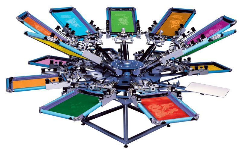 SOLD - Highly Profitable Screen Printer