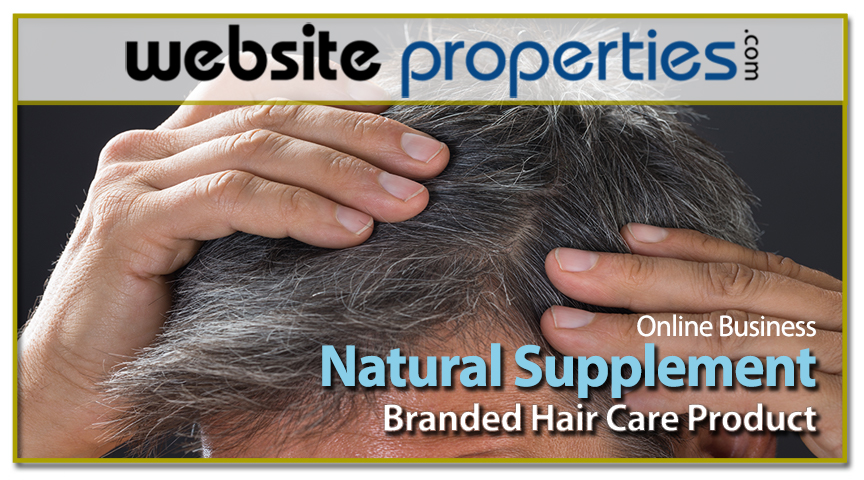 Natural Supplement Branded Hair Care
