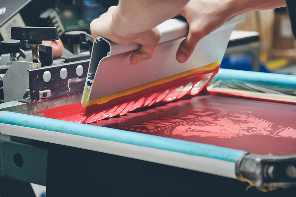 Embroidery and Screen Printing Business