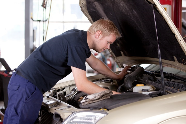 Busy Full Service Automotive Repair Busi
