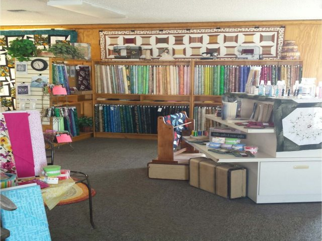 Quilt Shop and Quilting Machine Retailer