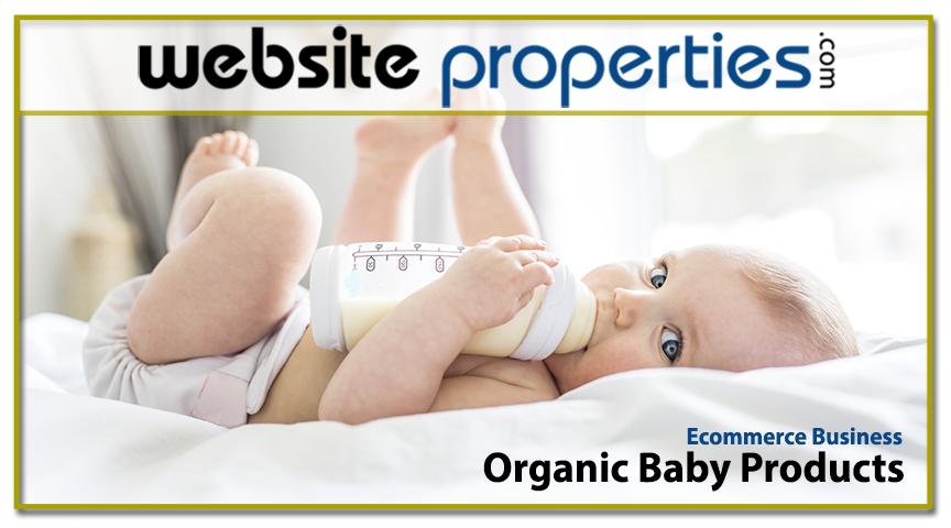 Organic Baby Products Ecommerce Business