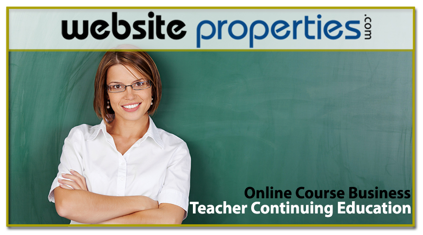 Teacher Continuing Education Online