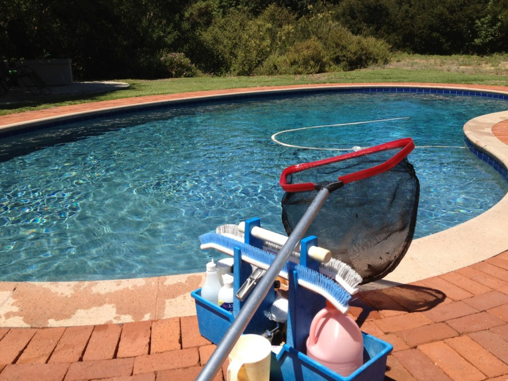 Pool Cleaning and Repair Business