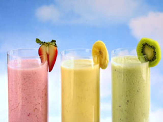 Fresh and Healthy Smoothie Shop