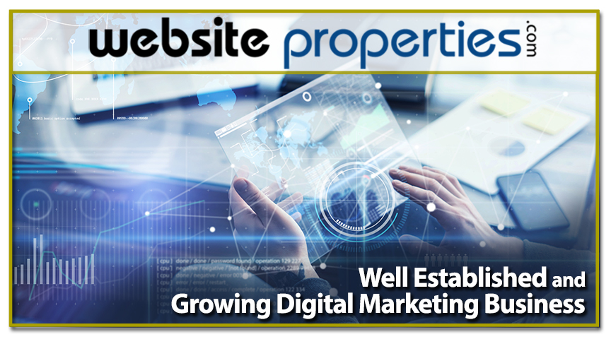 Well Established & Growing Digital Mktg