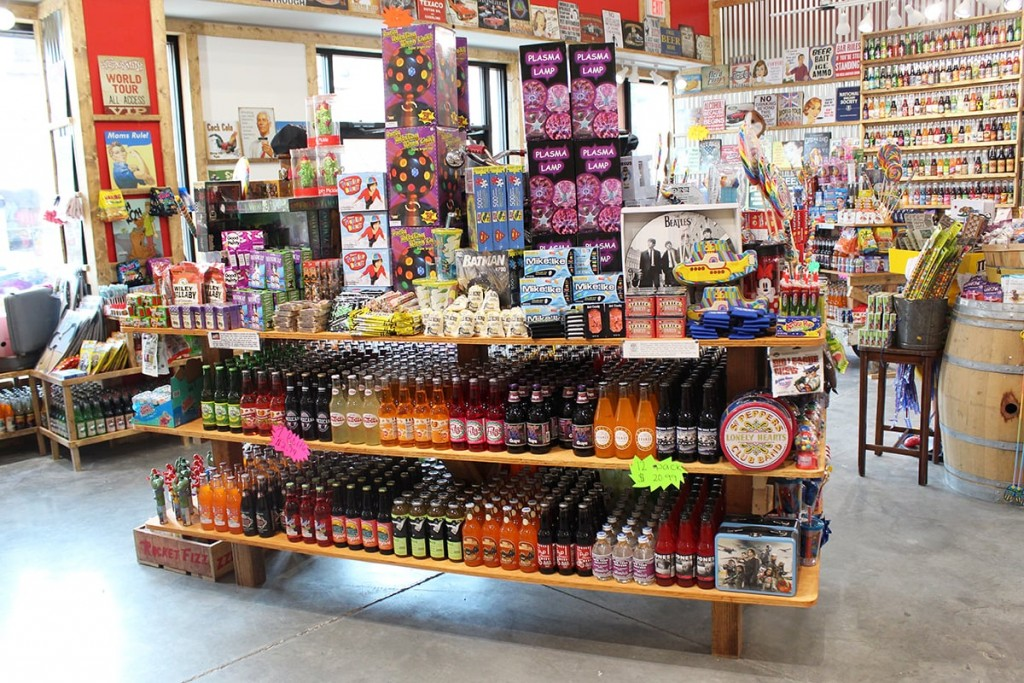 Well-Known Candy & Soda Shop