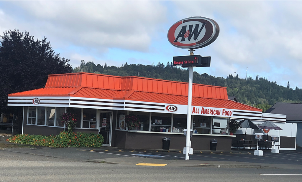 Profitable A&W Restaurant for Sale