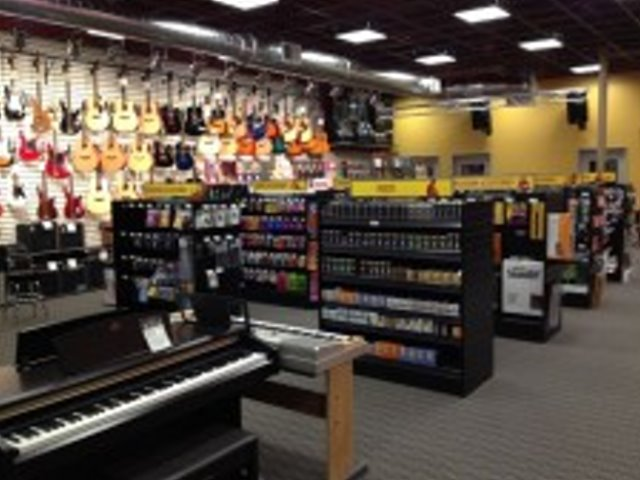 Retail and Rental Music Outlet