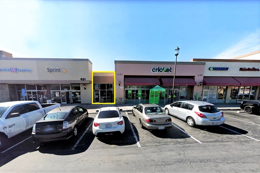 Retail for lease